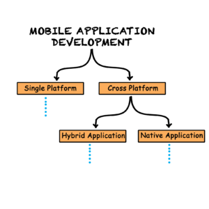 The pathways for a developer