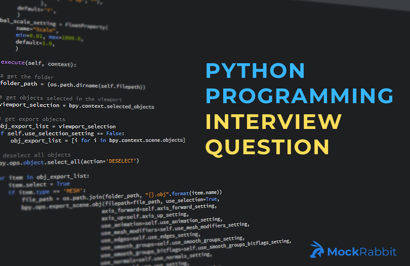 Python Programming Interview Questions 2019-images